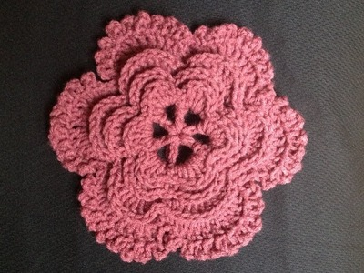 How to Crochet a Flower Pattern #14 by ThePatterfamily