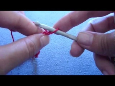 How to crochet. Basic steps. Starting and making a chain
