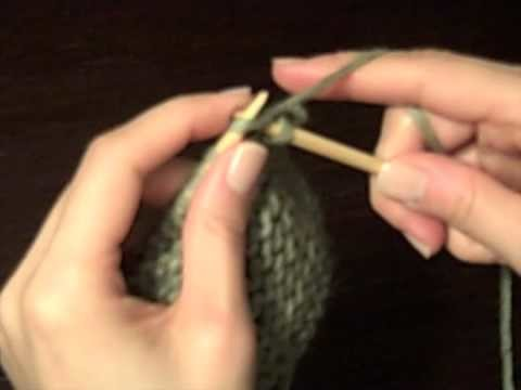 How to Knit for Beginners: Binding Off