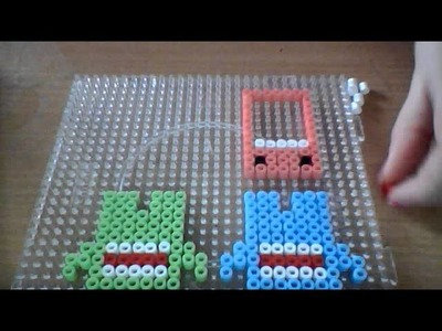 How to: make a domo hama beads