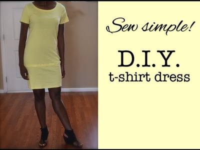 How to make a t-shirt dress | Nik Scott