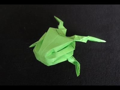 How To Make An Origami Inflatable Frog