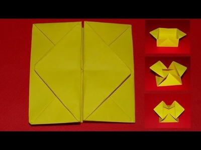 How To Make An Origami Pop Out (Diamond) Envelope - Box 03