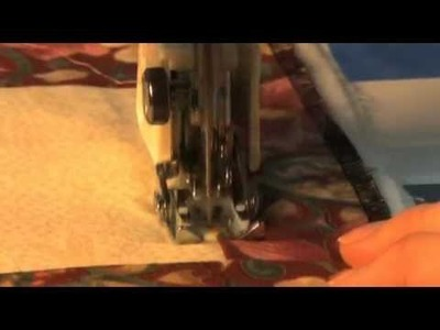 How to use Janome Walking Foot for Memory Craft MC5700.9000.10000