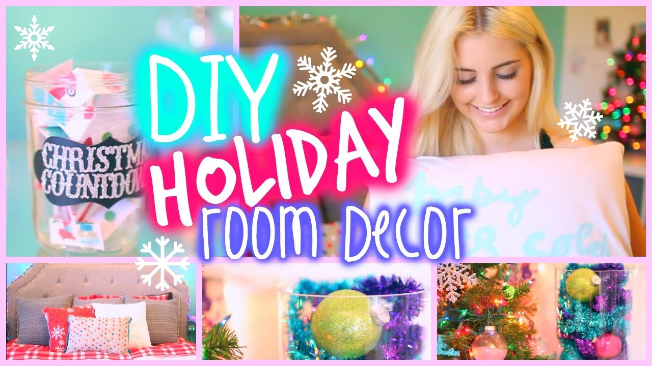 Inexpensive DIY Holiday Room Decor Ideas! | Aspyn Ovard