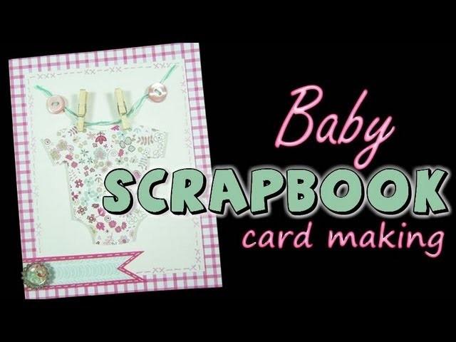 Invitaciones para Baby Shower Invitations Scrapbook Invitaciones de Bautizo Pintura Facil