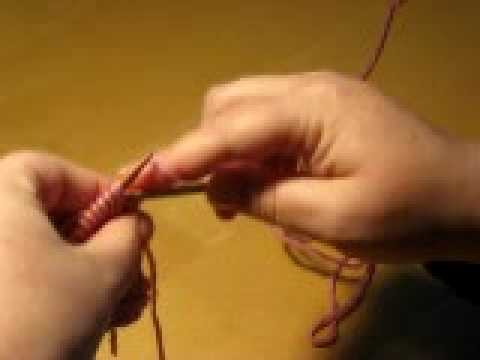 Knitting an Applied I cord