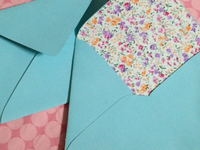Make Beautiful Fabric-Lined Envelopes - Crafts - Guidecentral