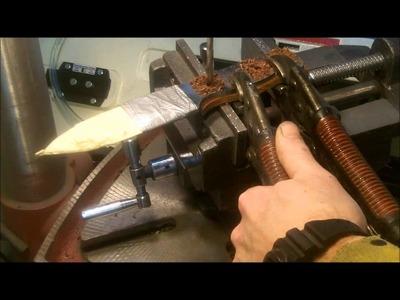 Making a Bush Craft Knife - The Bushman