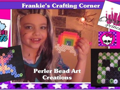 Monster High | Frankie's Crafting Corner - Perler Bead Art Creations | Creative Princess