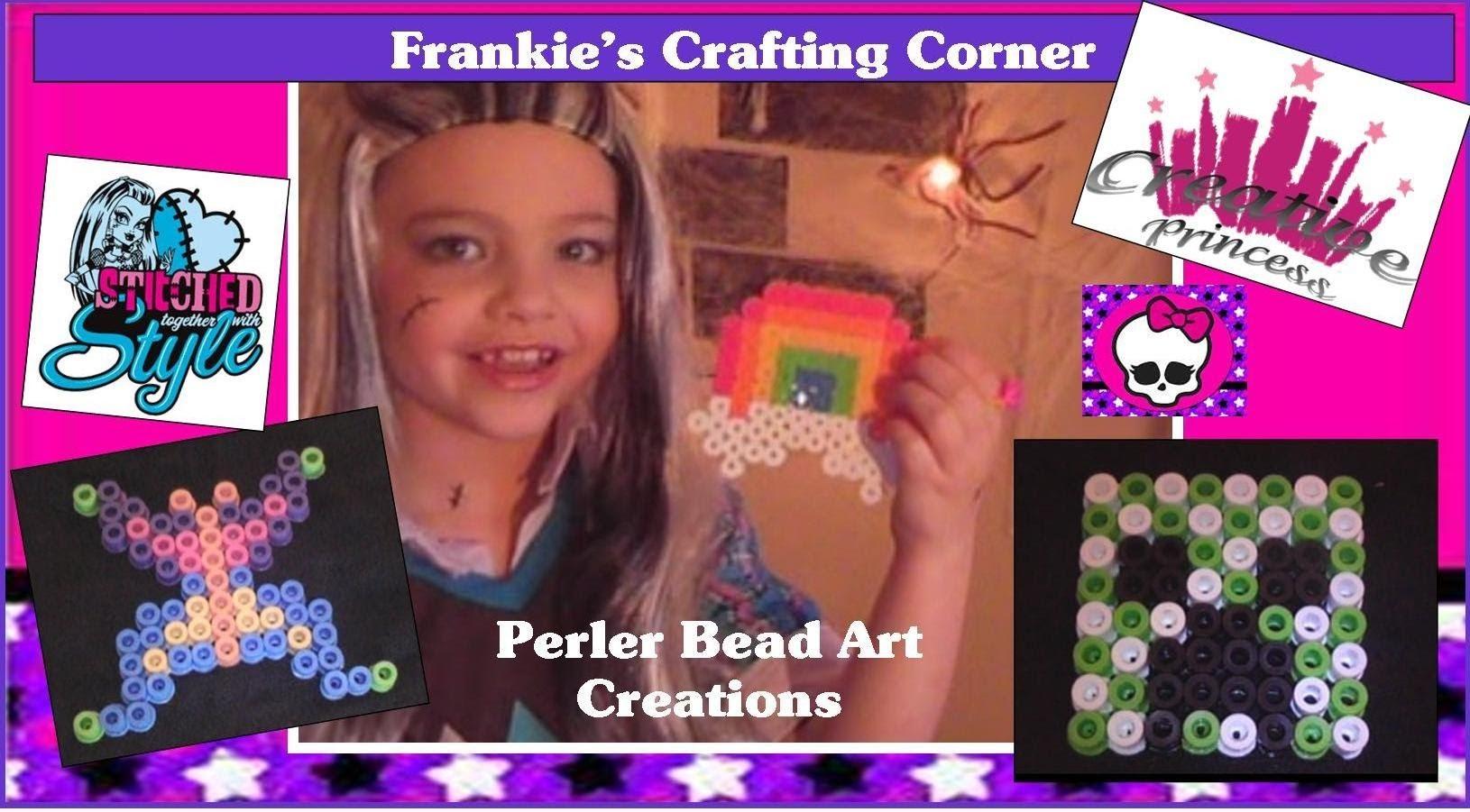 Monster High | Frankie's Crafting Corner - Perler Bead Art Creations | Creative Princess