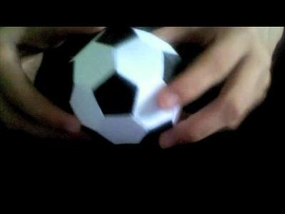 Origami Soccer Ball (Not a Tutorial)