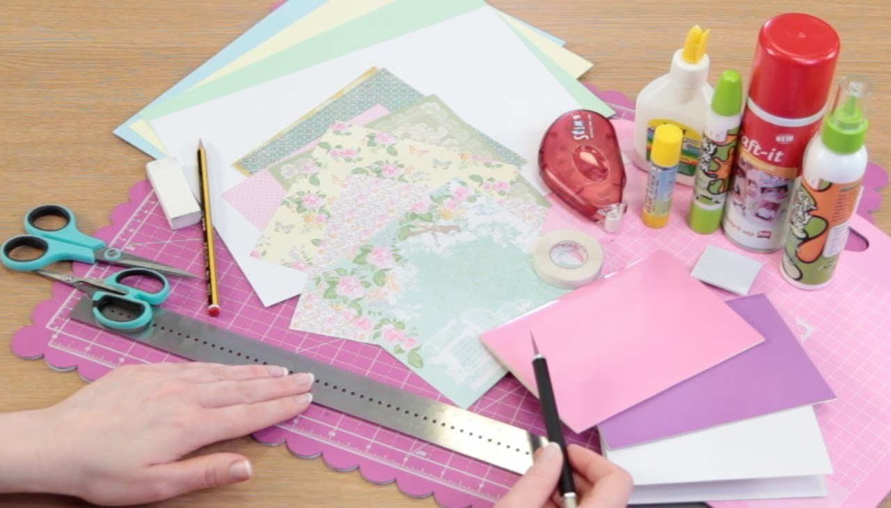 Papercraft Basics: What you'll need to begin card making