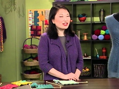 """Preview Knitting Daily TV Episode 704, """"In, Around, and Through"""""""