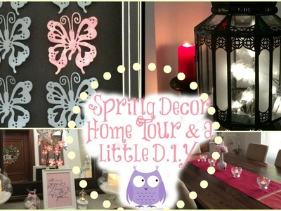 Spring Decor Home Tour and a little DIY