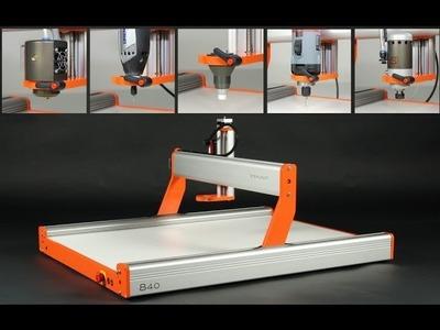Stepcraft 2 - Universal Desktop CNC. 3D Printer. Laser