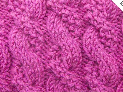 The Textured Cable Stitch :: Knitting Stitch #526 :: Right Handed