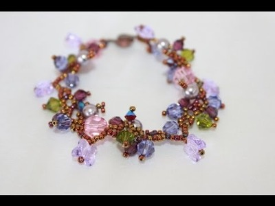 Tropical Forest Bracelet Video Jewelry & Beading Video Tutorial