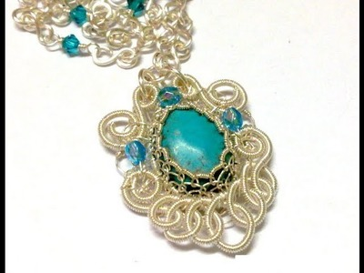 Wired Chinese Knot Jewelry Treasuryknot Pendant