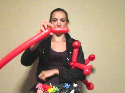 Tutorial Tuesday  - Friendly Monster Balloon Animal How-To Tutorial!