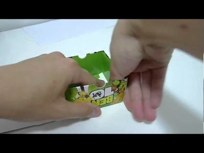 Wholesale Ben 10 Alien Force DIY Watch Gift Box Cushion (Step By Step)