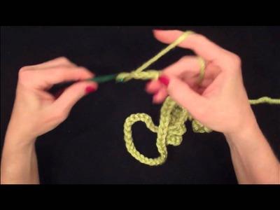 014 Learn How to Crochet: Corkscrew Crochet - Left Handed
