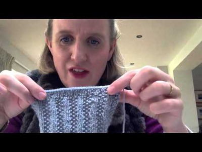 Art of Knitting - Square 10 of the Throw