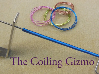 Artbeads Mini Tutorial - The Coiling Gizmo with Cynthia Kimura