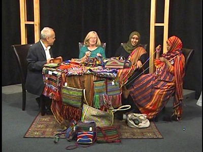 Belahdan.  Somali Finger Weaving an Old Tradition