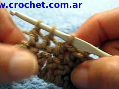 Como disminuir en un tejido crochet tutorial paso a paso.