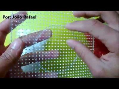 Como fazer um chaveiro com Perler Beads
