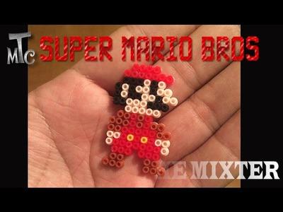 Cómo hacer llaveros de Mario Bros de Hama Beads   The Mixter Channel   Hama beads Mario