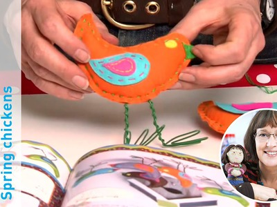 Craft With Jane Bull: How to Make Spring Chickens