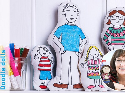 Craft with Jane Bull: How to make Doodle Dolls
