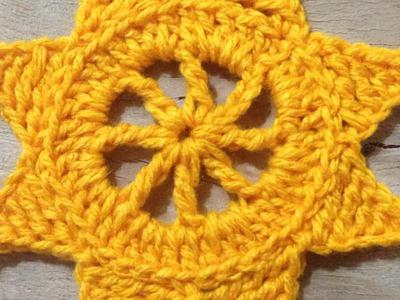 Crochet a Beautiful Sun Motif for the Summer - DIY  - Guidecentral