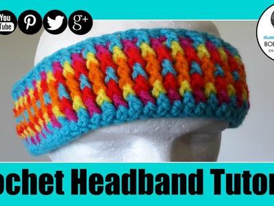 Crochet Cozy Headband Tutorial