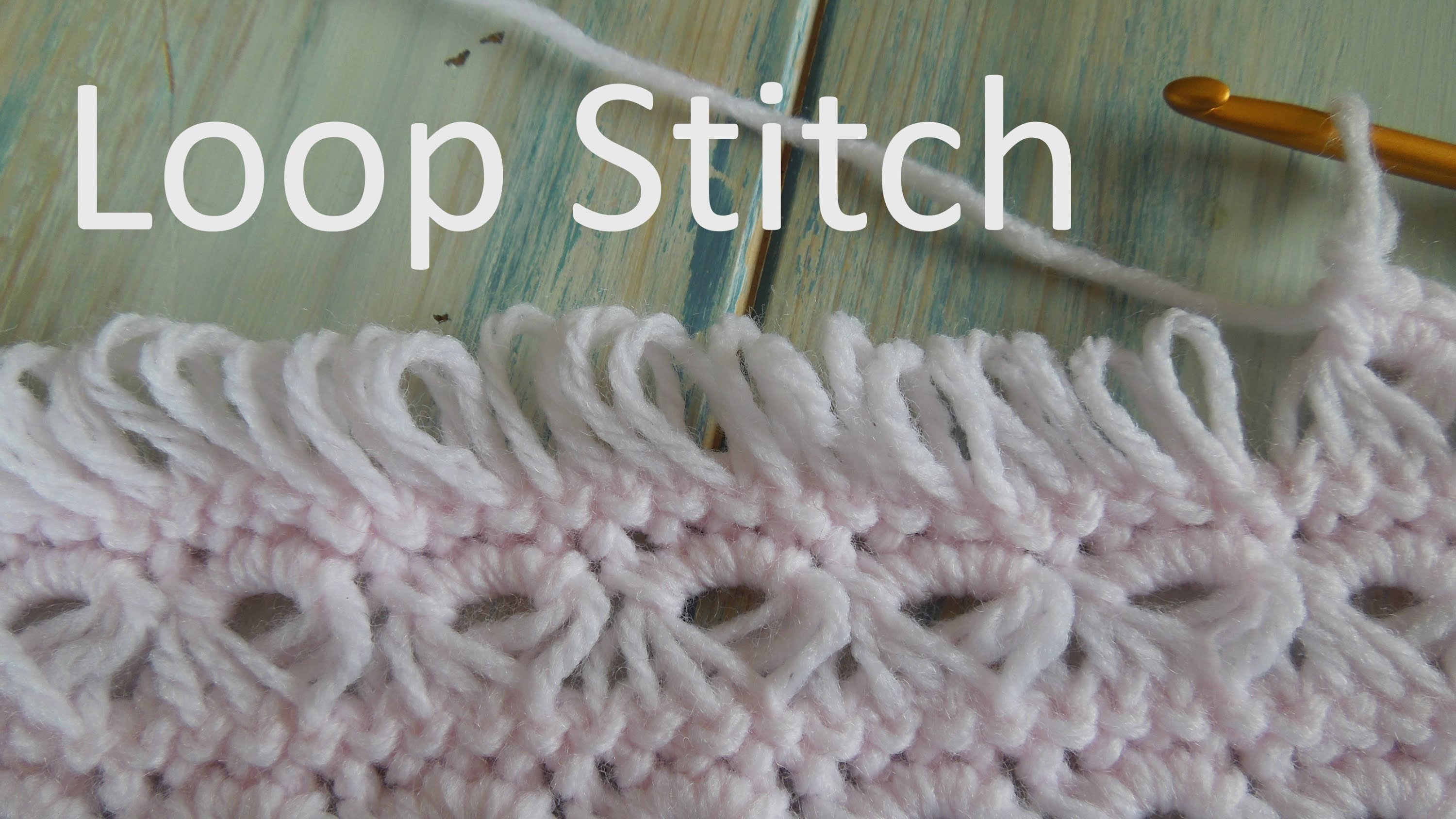 (crochet) How To - Crochet the Loop Stitch