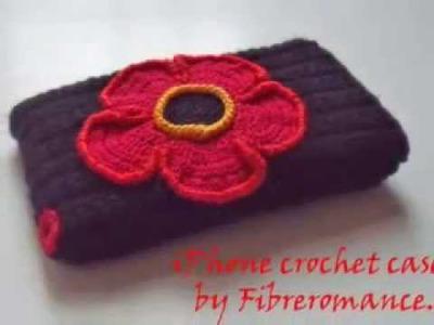 Crochet iPhone case by Fibreromance