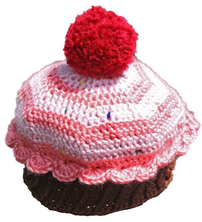 Crochet Premmie to Adult Size Cupcake Beanie Part 3 of 3