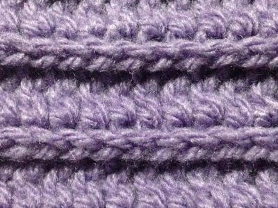 Crochet the Ridge Stitches Pattern - DIY  - Guidecentral