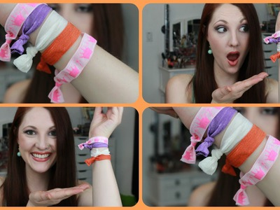 DIY HAIR TIES---Affordable, Creaseless & Adorable!!