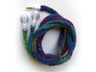 "DIY: How to Knit ""iCords"" Earbuds"