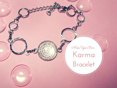 DIY Karma Bracelet ✸ Jewelry Making Tutorial ✸ (with PandaHall elements)