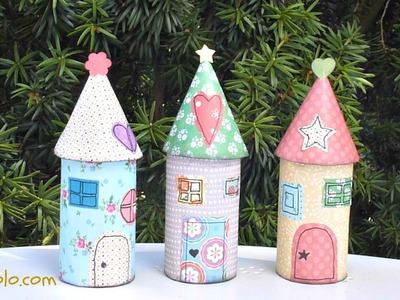 DIY. La Casita de los Duendes, Paper Fairy House