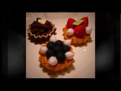 "Felt Crafts - Felt Food D.I.Y Tart Kit #1 (from the ""Felt Cuisine"" series)"