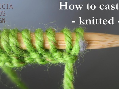 How to cast on knitting