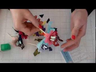 How to Craft a Tootsie Pop Flower Valentine