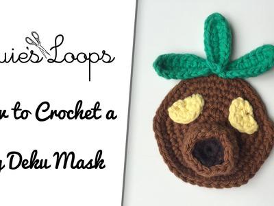 How to Crochet a Big Deku Mask