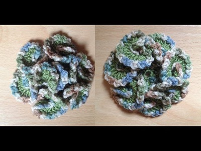 How to Crochet a Flower Pattern #23 by ThePatterfamily