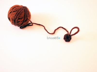 How to Crochet Magic Ring with Single Crochet Stitches